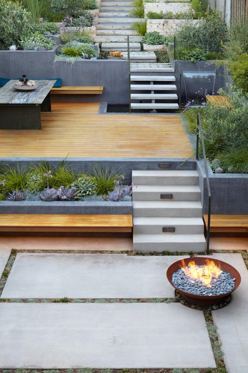 modern garden and landscape ideas 1 - 2