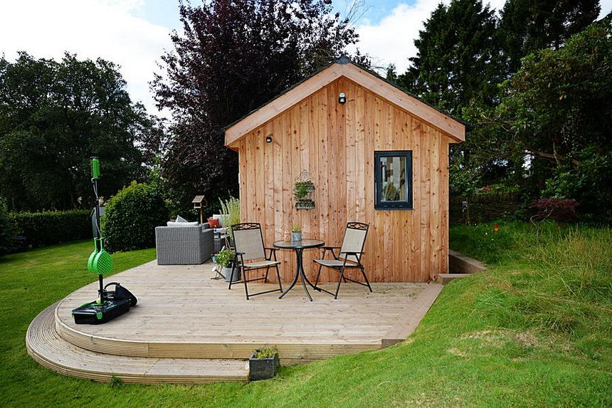 outdoor shed ideas 49