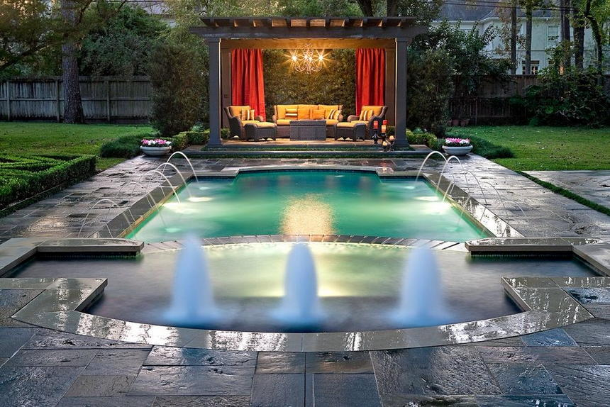 patio pool design ideas 17