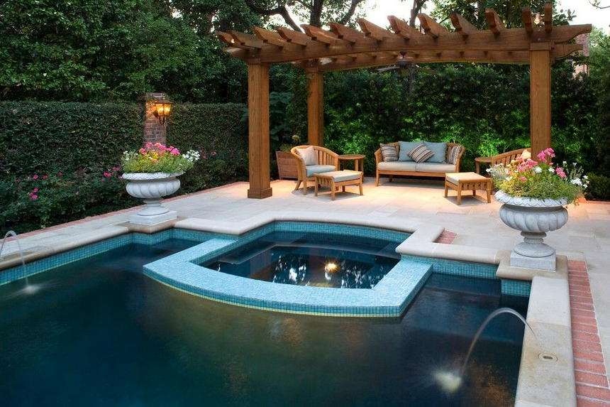 patio pool design ideas 19