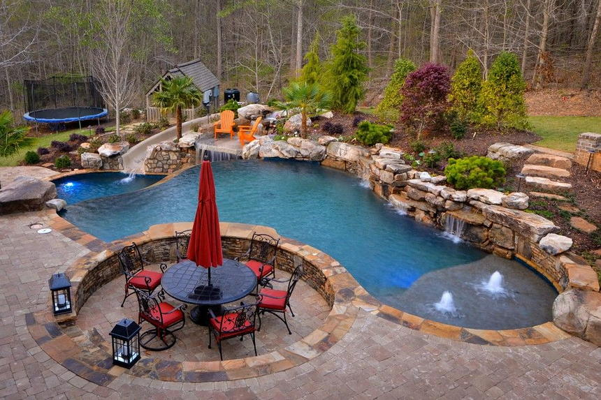 patio pool design ideas 28