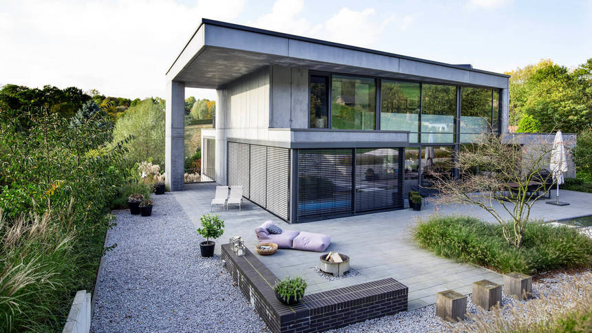 Contemporary Exterior Home Ideas 13