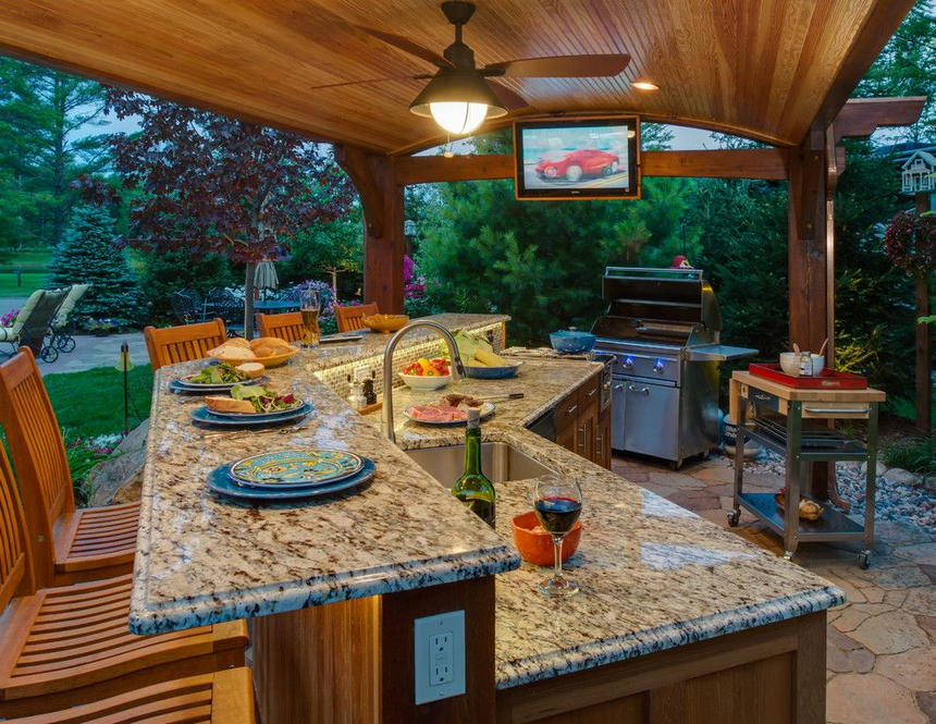 outdoor kitchen ideas 16