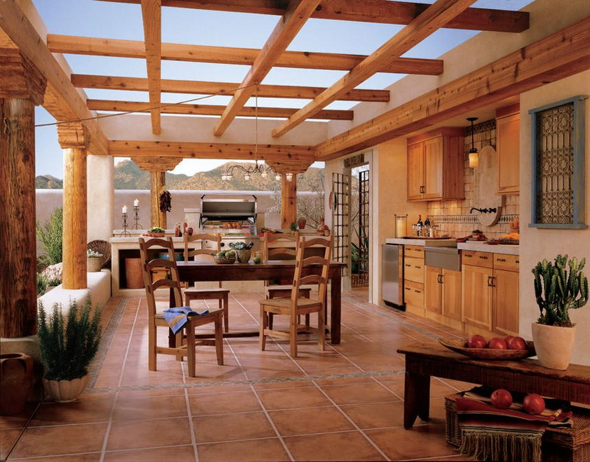 outdoor kitchen ideas 26