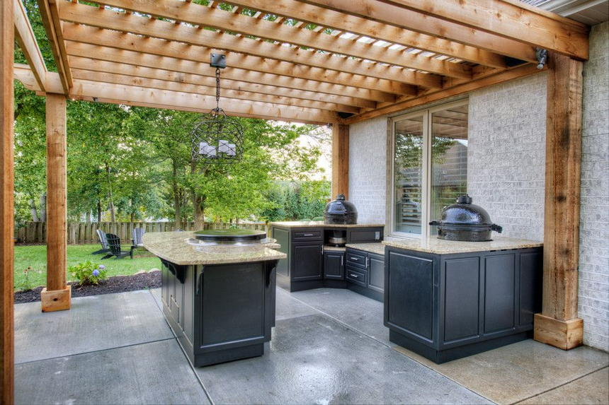 outdoor kitchen ideas 43