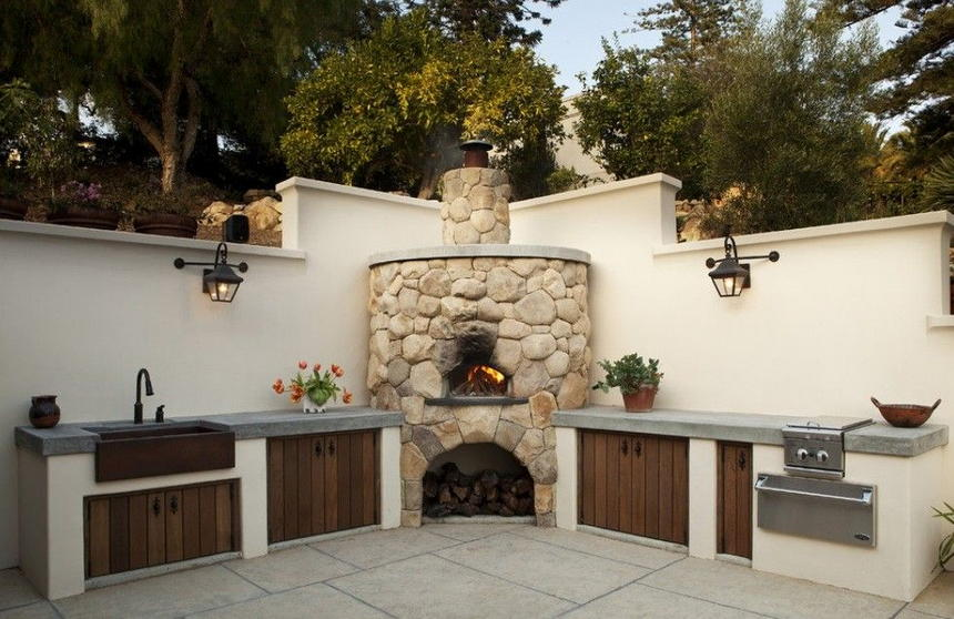 outdoor kitchen ideas 44