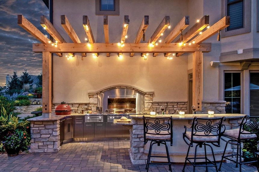 outdoor kitchen ideas 50