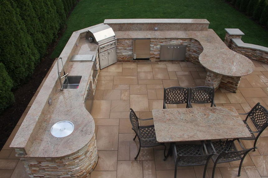 outdoor kitchen ideas 54