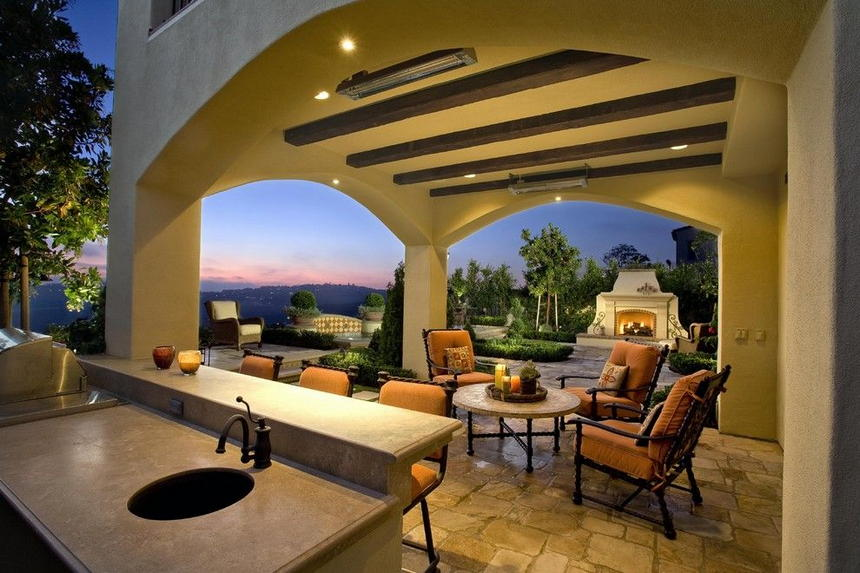 outdoor kitchen ideas 56
