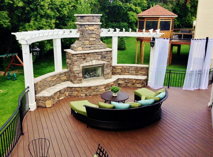 outdoor living space ideas 44