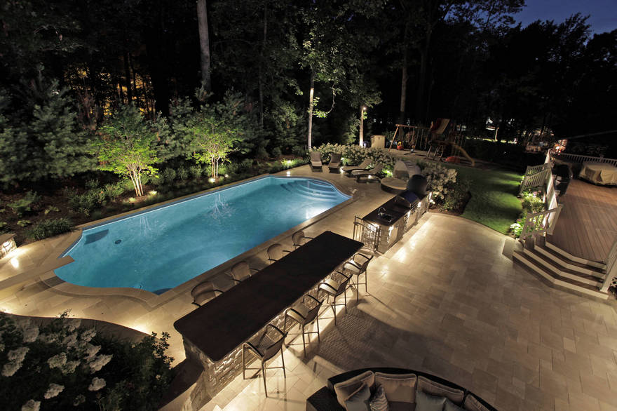 outdoor pool and hot tub spa 36