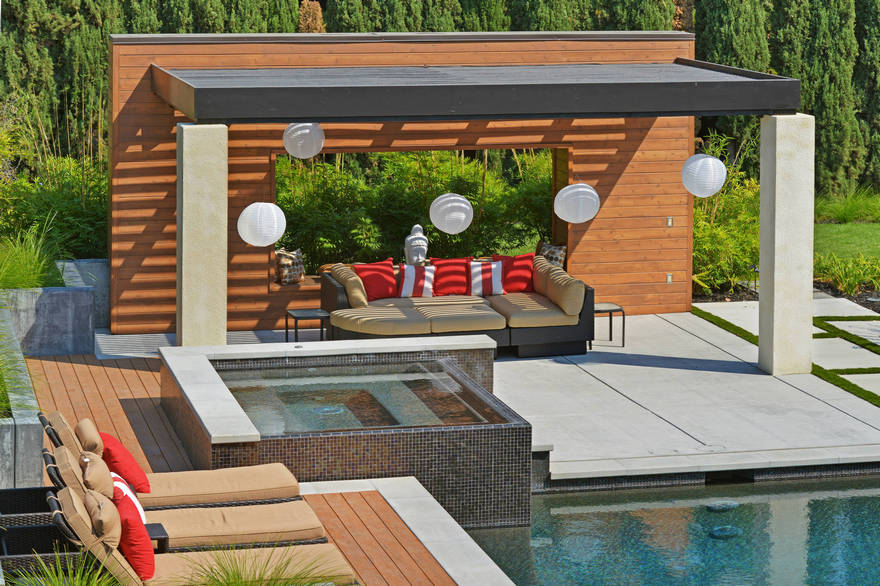 outdoor pool and hot tub spa 44