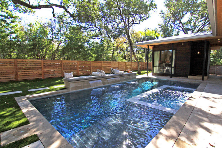 outdoor pool and hot tub spa 50