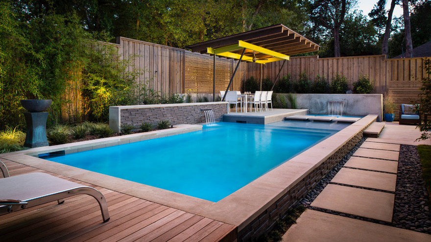 outdoor pool and hot tub spa 56