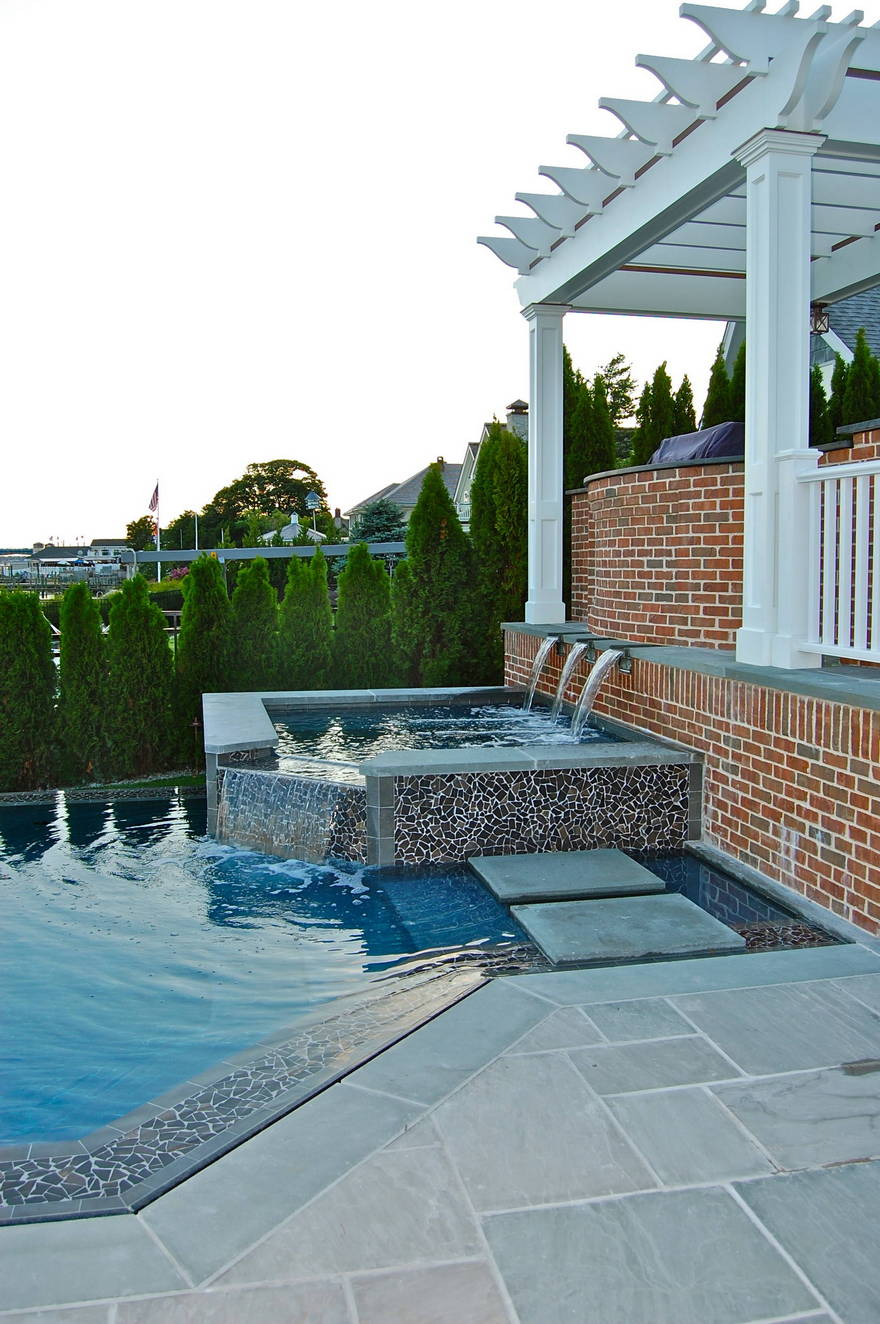 outdoor pool and hot tub spa 59