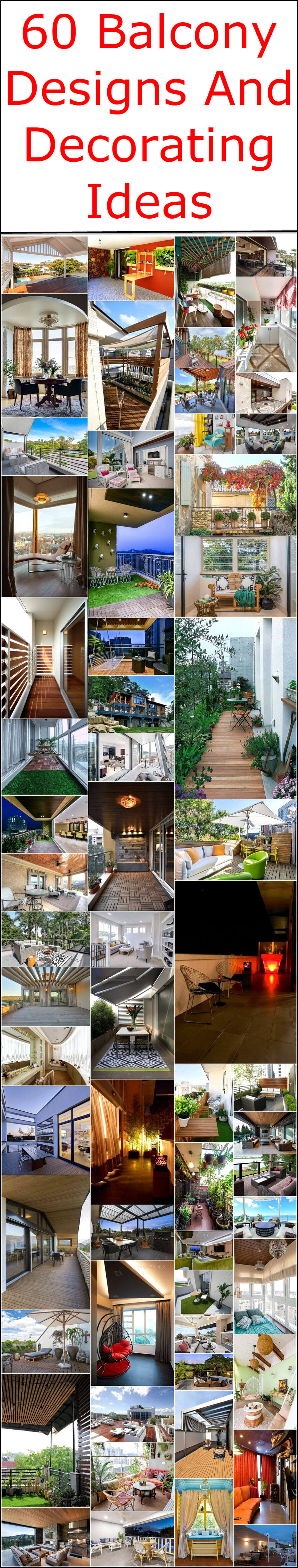 60 Balcony Designs And Decorating Ideas