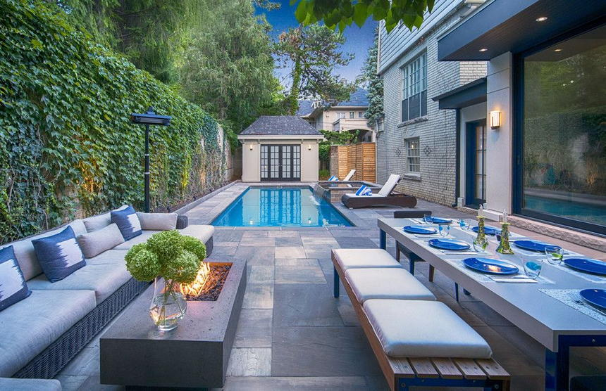 outdoor living spaces with fireplace (10)