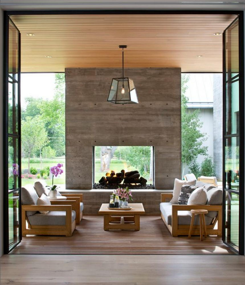 outdoor living spaces with fireplace (26)