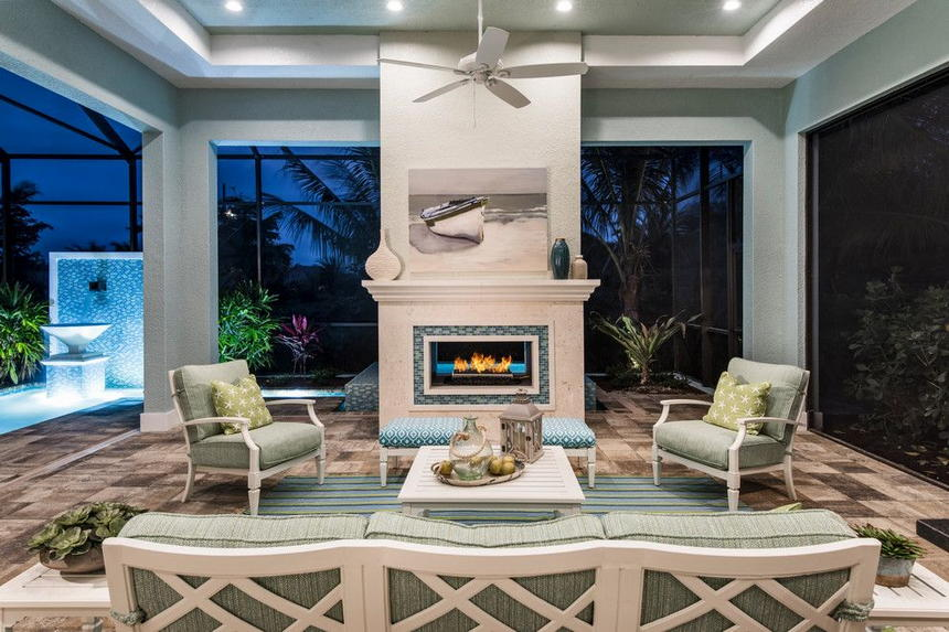 outdoor living spaces with fireplace (60)