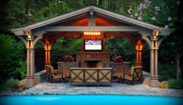 Amazing Outdoor Design Ideas with a Gazebo And Cabana