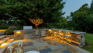 Pleasingness Backyard Designs and Landscaping Ideas