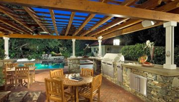 Awesome Outdoor Kitchen Ideas For Your Guests Refreshment