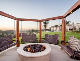 Outdoor Living Spaces with Fireplace or Fire Pit