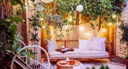 Bohemian Style Garden And Outdoor Living Ideas