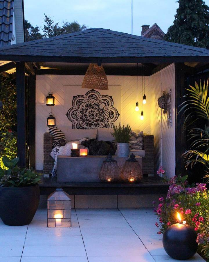 bohemian garden and outdoor (8)